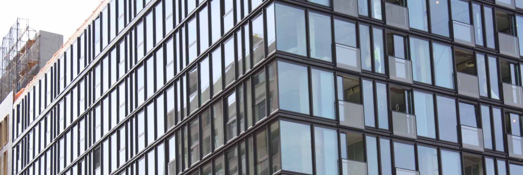 Daylite window commercial window curtain wall installation for Commercial windows
